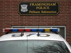 Framingham Police Pelham Substation