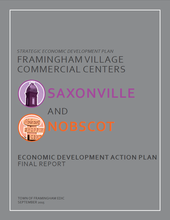 Villages Economic Plan Cover