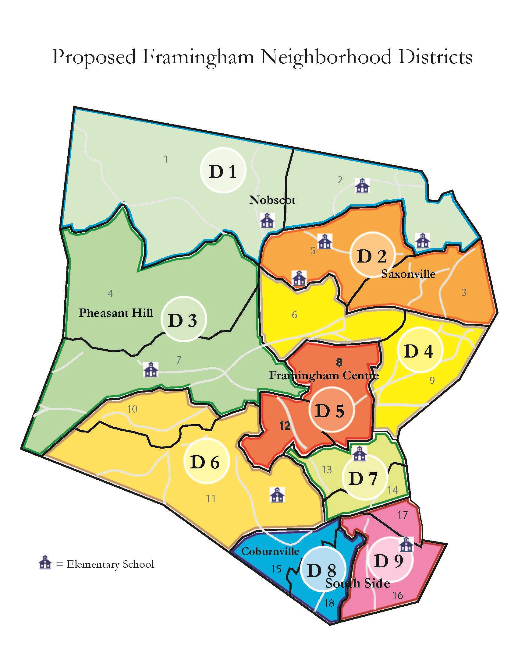 Proposed Precinct-District Map (PDF)
