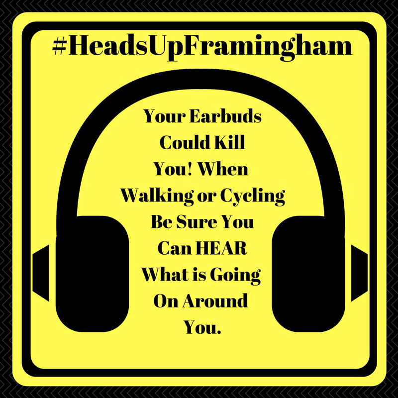 HeadsUpFramingham - Earbuds Can Kill Image