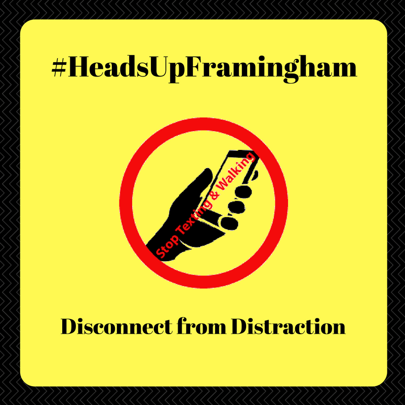 HeadsUpFramingham - Disconnect From Distraction Image