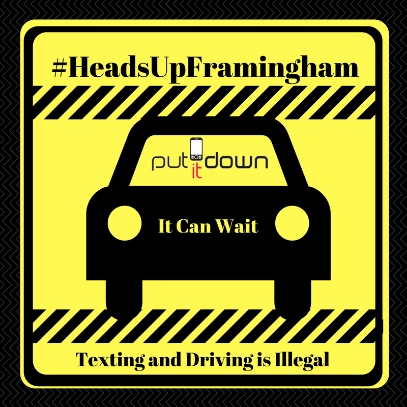 HeadsUpFramingham - Put It Down Image