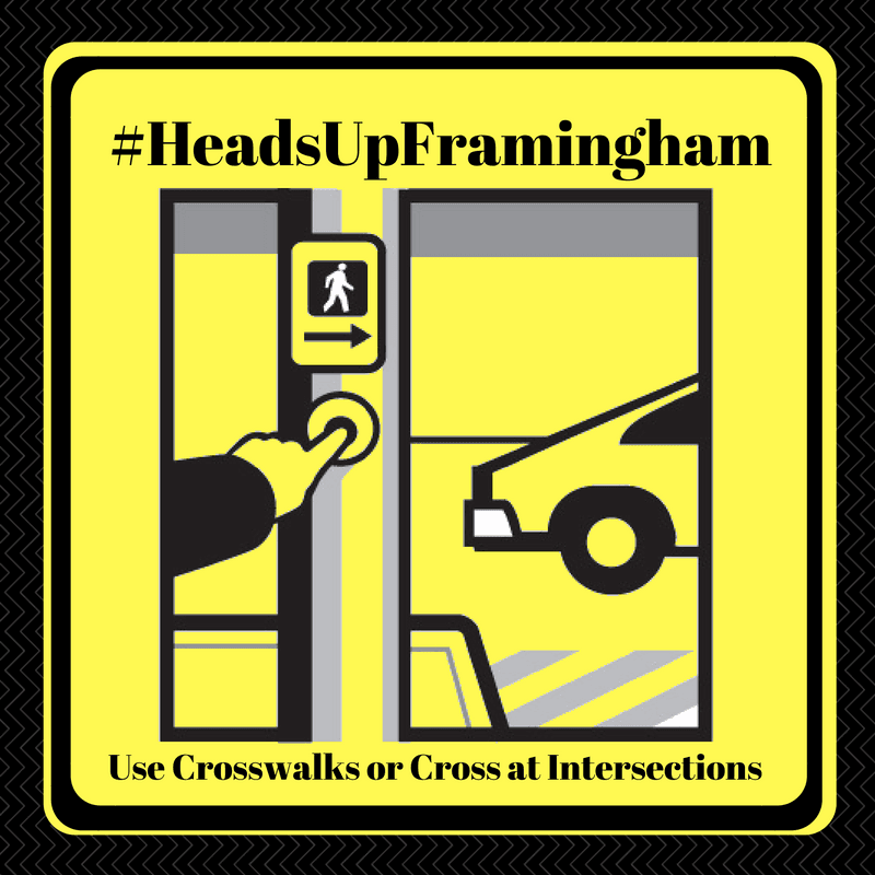 HeadsUpFramingham - Use Crosswalks Image