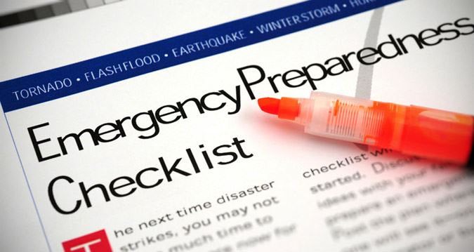 Image of Emergency Preparedness Checklist