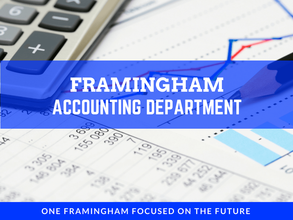 Image of Header for the Accounting Department