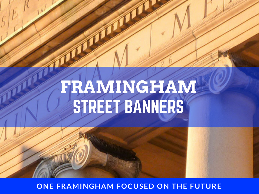 image of street banners