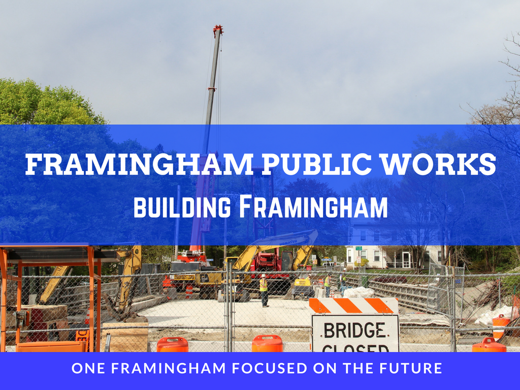 Image of Framingham Public Works Building Framingham Logo