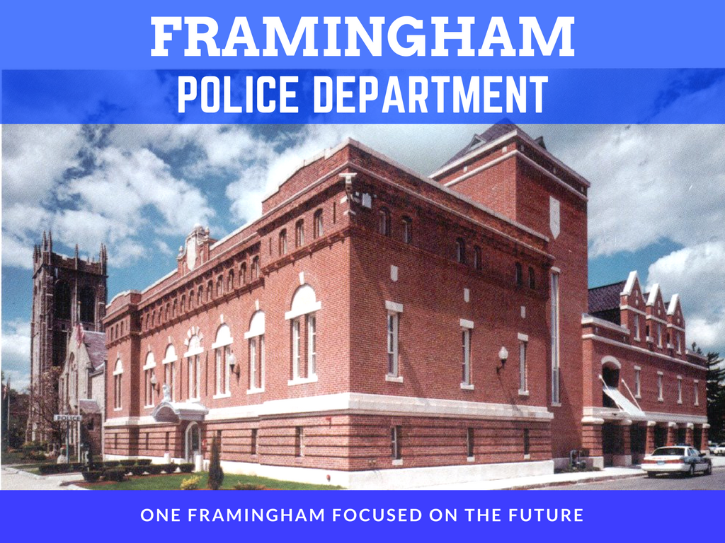 Image of Town Of Framingham Police Department Banner
