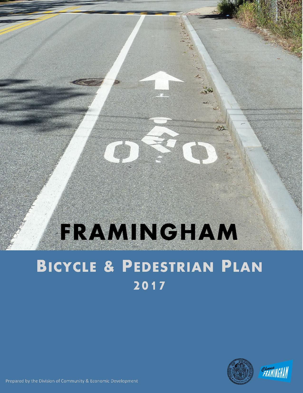 Bike & Pedestrian Plan Cover