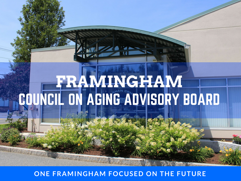 image of council on aging advisory board banner