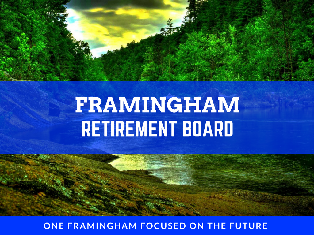 image of retirement board banner