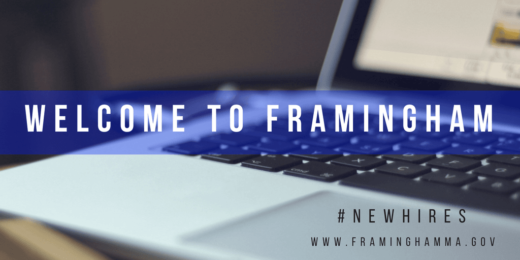 image of welcome to Framingham