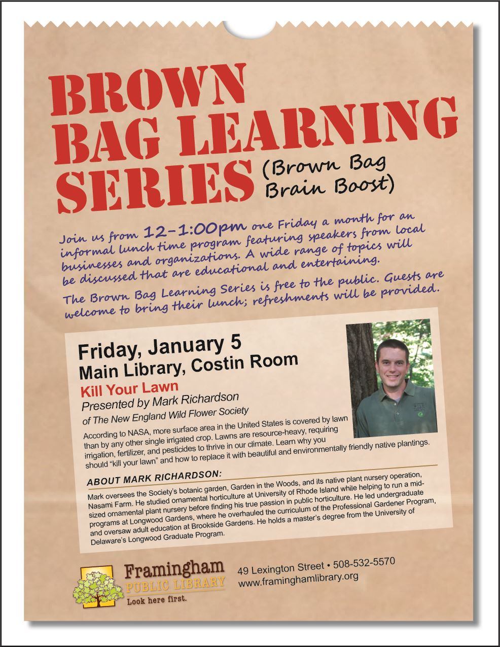 Brown Bag January