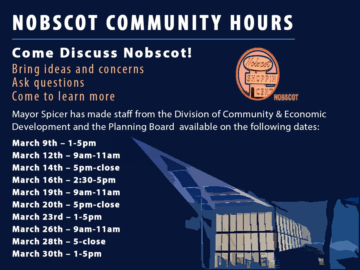 Nobscot Community Hours