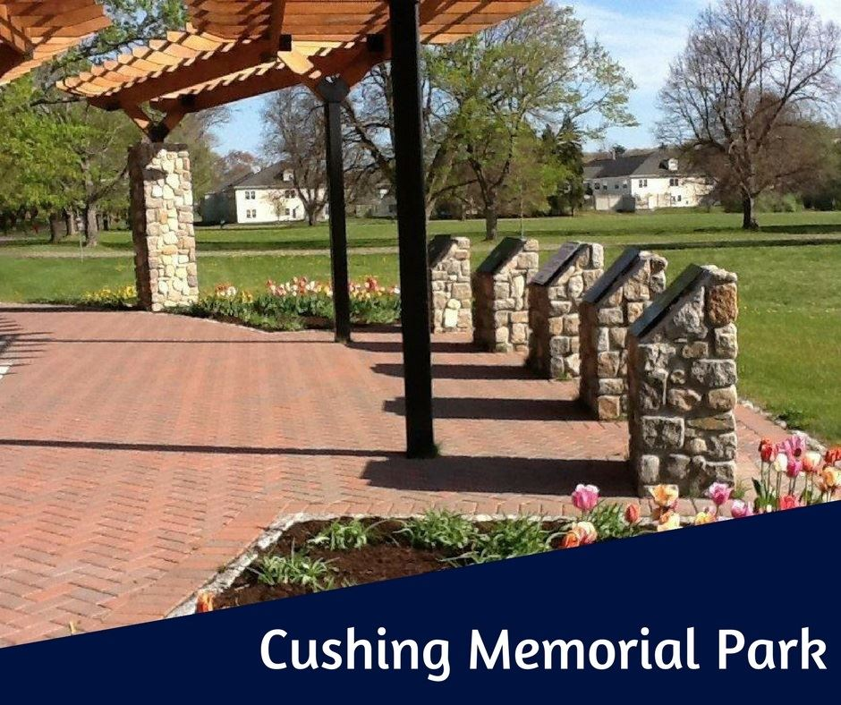 Cushing Memorial Park button