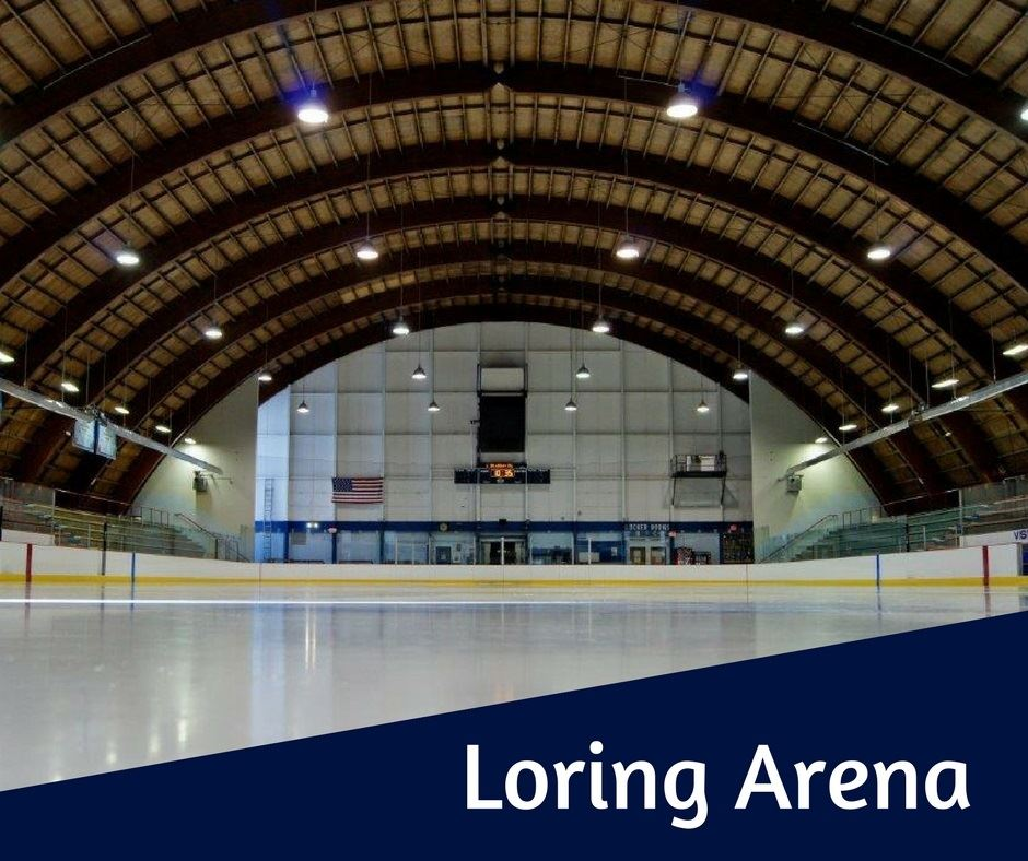 Loring Arena button