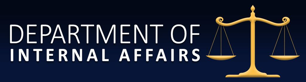 Department of Internal Affairs Banner
