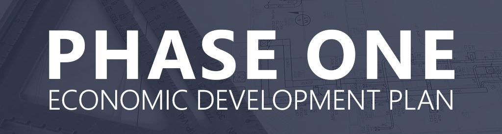 Phase One Economic Development Plan Banner