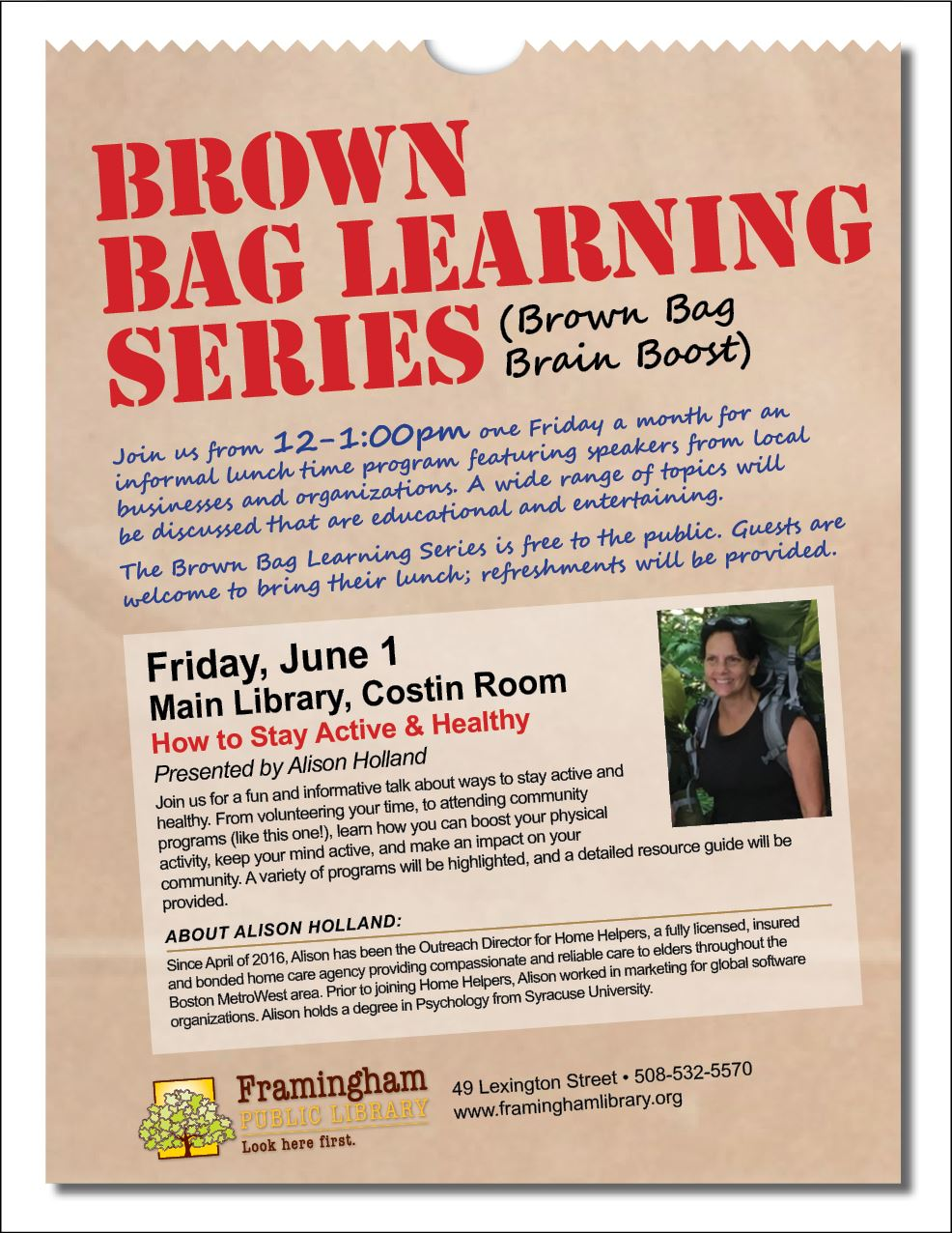 Brown Bag June