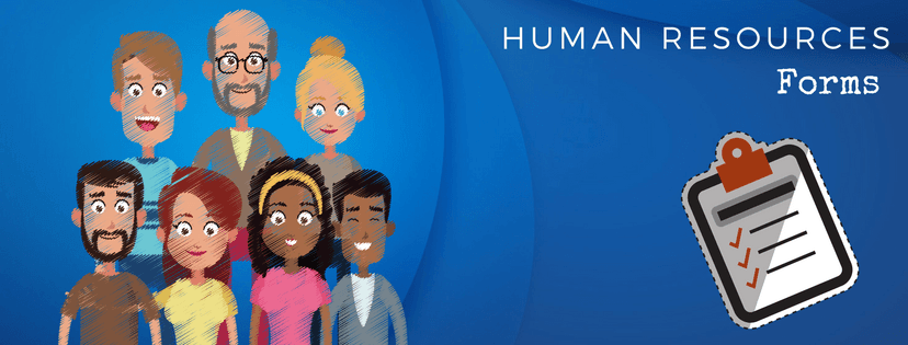 Human Resources Form Banner