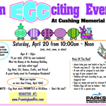 Annual EggCiting Egg Hunt Event 2019