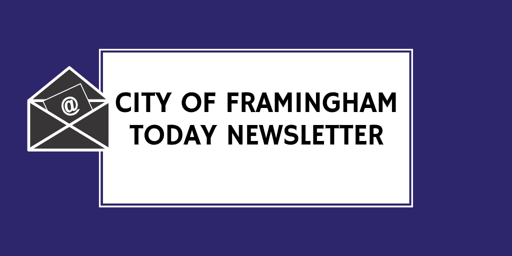 image showing the framingham today newsletter
