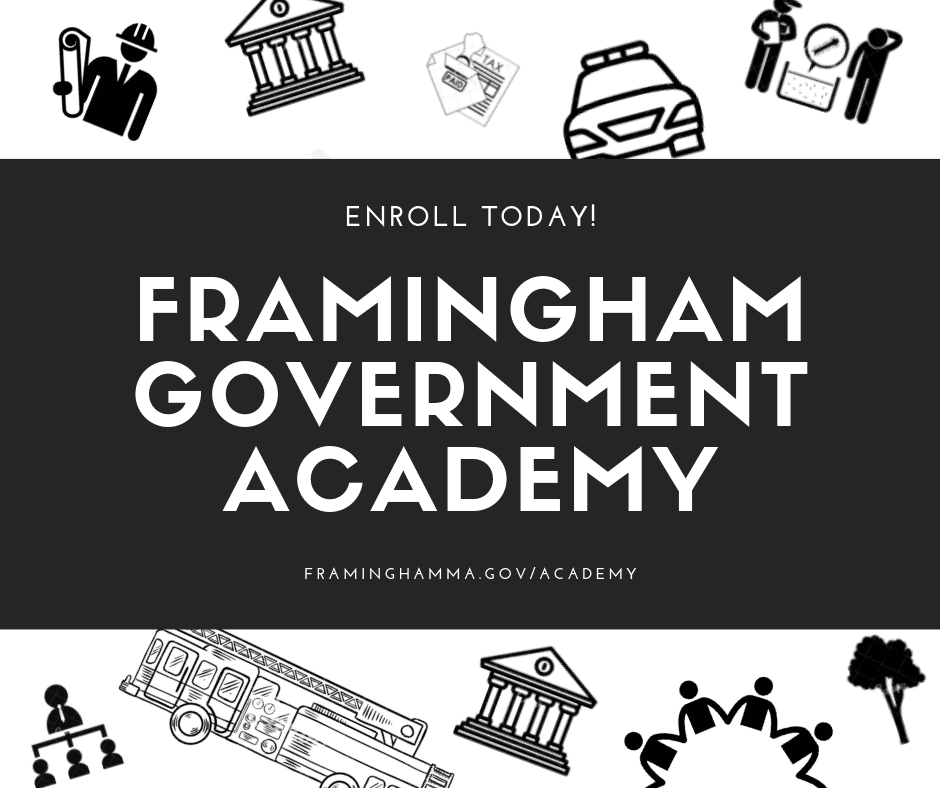 Image showing the banner for the Framingham Government Academy