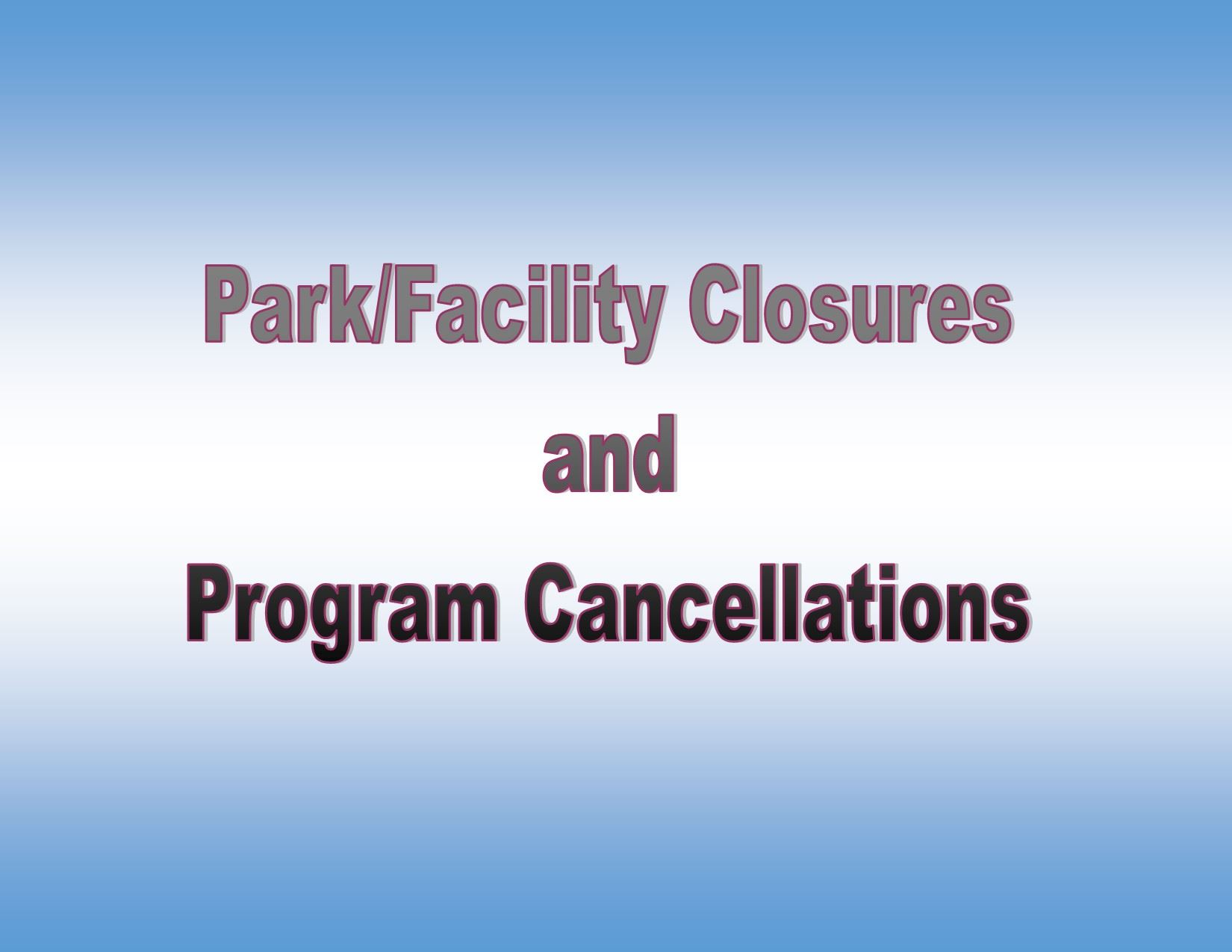 Closures and Cancellations landscape