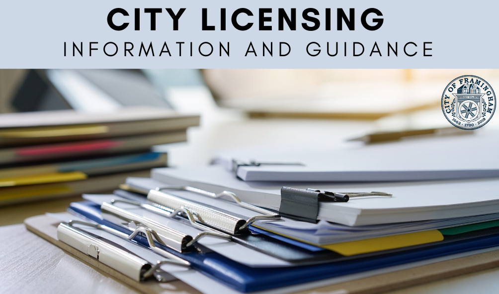 City Licensing Information and Guidance