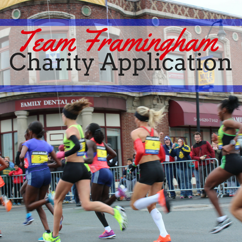 Click on this Image for the Team Framingham Charity Application