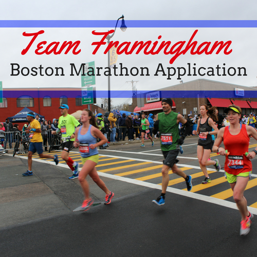 Click Here for the Team Framingham Boston Marathon Application