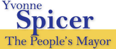 Yvonne Spicer The Peoples Mayor Logo