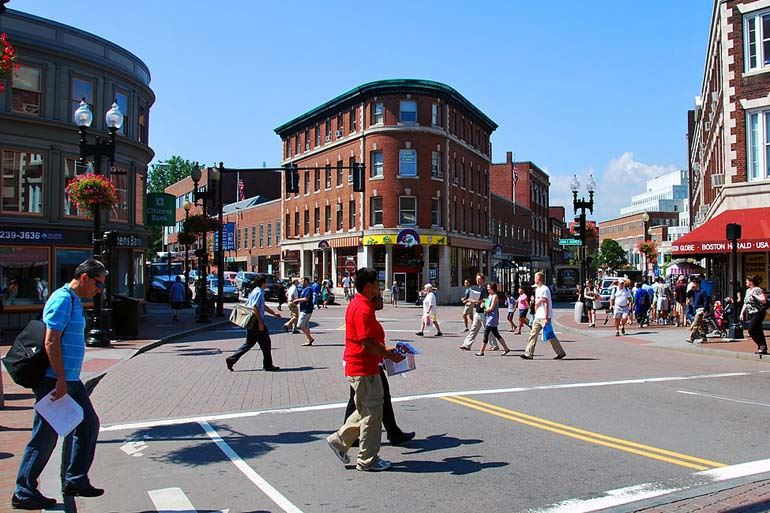Harvard Square walkable